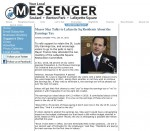 Mayor Slay Talks to Lafayette Sq Residents About the Earnings Tax story for YourLocalMessenger.com