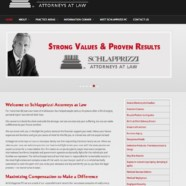 Website writing for Schlapprizzi Attorneys at Law, St.Louis